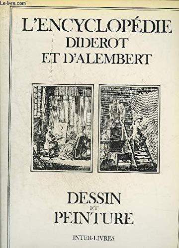 L'Encyclopédie Diderot et d'Alembert dessin et peinture
