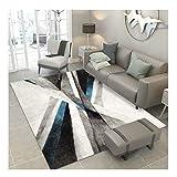 LYM Alfombra # Sala de Estar Alfombra para el hogar Sofá de Interior Estera de la Mesa de Centro Alfombra Moderna Simple de la Cama del Dormitorio alfombras (Color : H, Tamaño : 140CM*200CM)
