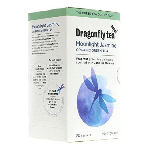 Dragonfly Tea Organic Moonlight Jasmine Green 20 Teabags