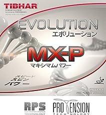 Tibhar Evolution Mx-P 2.1 mm Table Tennis Rubber (Red)