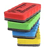 #8: LussoLiv School Office Magnetic Dry Wipe Whiteboard Cleaner Eraser Brush