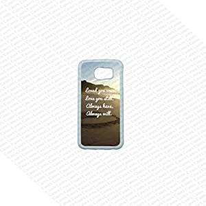 Krezy Case Samsung Galaxy S6 Edge Case, Cute Samsung Galaxy S6 Edge Cover, Inspirational Encouraging Quote Samsung Galaxy S6 Edge Case, Galaxy S6 Case, Cool Edge II Case