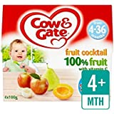 Vache Et Porte Des Fruits Cocktail De Fruits Pot Multipack 4 X 100G - Paquet de 2