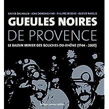 Gueules noires de Provence : Le bassin minier des Bouches-du-Rhône (1744-2003)