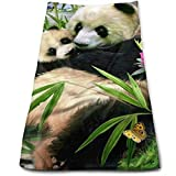 BAOQIN Long-Lasting Quality,Quickly Absorbs Moisture Stylish Handtuch Panda Bath Handtuchs for Bathroom-Hotel-Spa-Kitchen-Set - Circlet Egyptian Cotton - Highly Absorbent Hotel Quality Handtuchs