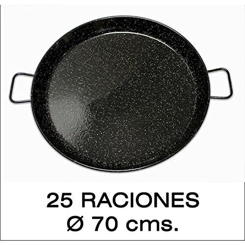 Paellera Valenciana Esmaltada 25personas/ 70cm