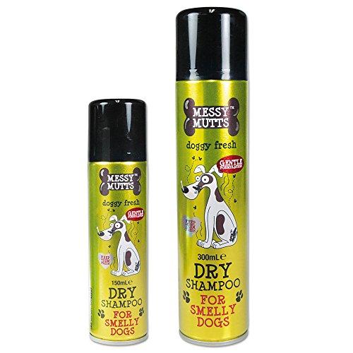 AFB PLC mm Trockenshampoo für Hunde 300ml Edle Blumenfrische Ideal für die Schnelle Wäsche zwischendurch der Hund ist Wieder Wunderbar Frisch Sauber und Gepflegt aus und riecht Wunderbar Frisch