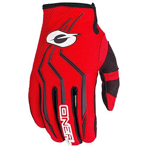 0392-310 - Guanti da motocross Oneal Element 2018, taglia L, colore: Rosso