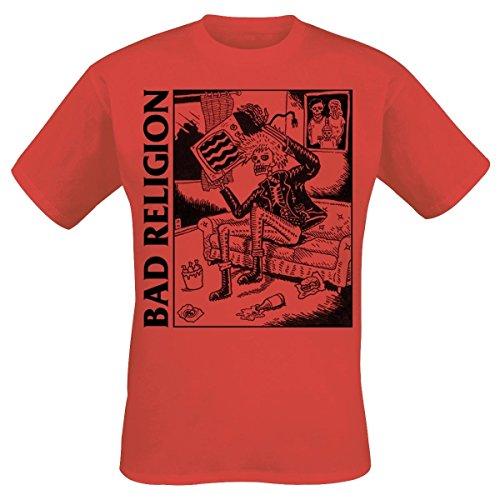 BAD RELIGION - Television - T-Shirt Größe XL