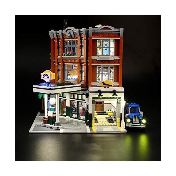 LIGHTAILING Set di Luci per (Creator Expert Corner Garage) Modello da Costruire - Kit Luce LED Compatibile con Lego… 2 spesavip