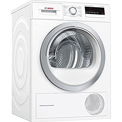 Bosch WTM85230GB Extra Energy Efficient Freestanding Condenser Heat Pump Tumble Dryer 8kg White