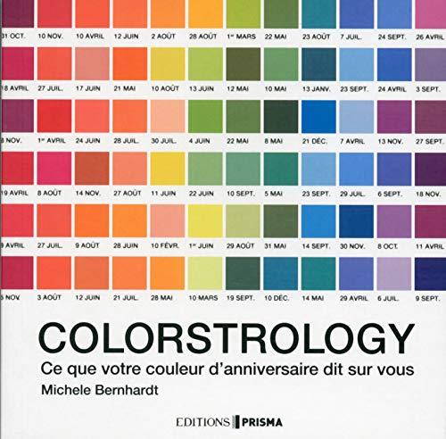 Colorstrology- ce que votre couleur d'anniversaire dit sur vous