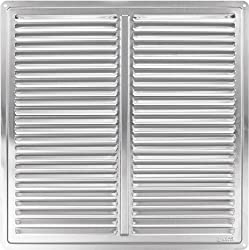 """Stainless Steel Air Vent Grille Cover 300x300 (12x12"""") Ventilation Grill Cover"""