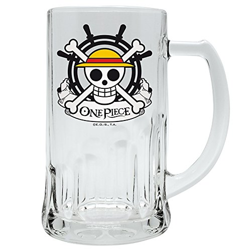 "ABYstyle ABYVER018 bicchiere da birra One Piece ""Scull - Rufy"""