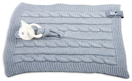Baby's Only 132822 Spitlle Tuch, grau