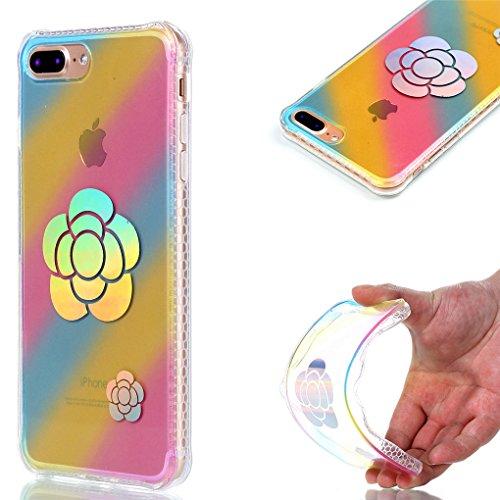 """Apple iPhone 7 Plus 5.5"""" Hülle, SATURCASE Schönes Muster Überzug Ultra Dünn Weich TPU Gel Silikon Schützend Zurück Case Cover Tasche Schutzhülle Handyhülle für Apple iPhone 7 Plus 5.5"""" (Design-1) Design-5"""