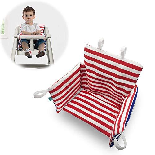 pretty-H Kinder Sitzkissen Baby Dining Chair Kissen Gepolsterte Rutschfeste Butt Cushion Sitzkissen Hochstuhl Kissen Und Abdeckung