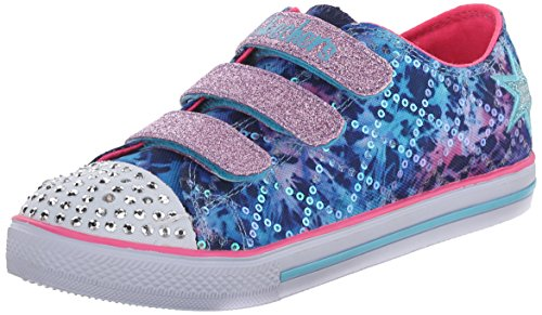 Skechers Chit Chat Dazzle Days, Baskets Basses Fille