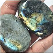 قطعة واحدة من الحجر الطبيعي الخام 5-7 سم من الأحجار الكريمة الملونة الطبيعية حجر القمر شفاء أحجار لابرادوريت ر