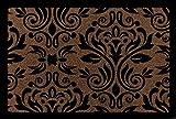 FUSSMATTE Schmutzmatte BARONESS Muster Türvorleger Eingang Flur Viele Farben Braun