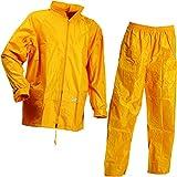 Lyngsoe lr104054–56-xs tamaño XS conjunto de lluvia chaqueta y pantalones–amarillo