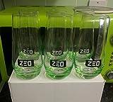 6 x Zeo ruso Vodka verde Hi bola de cristal vasos