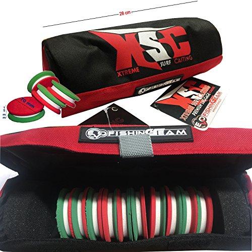 Kit-Spulen + 10ruzzole Tricolore 70x 15mm (X Evo Spule)