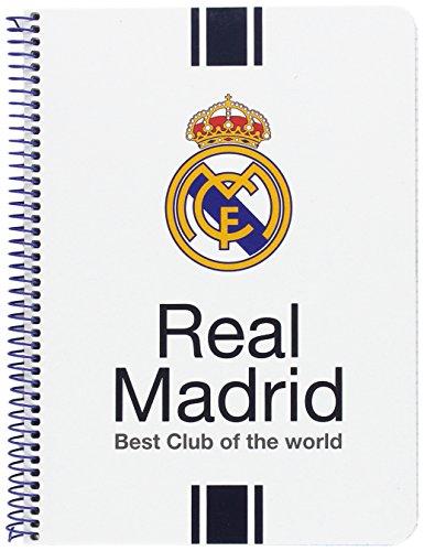 Real Madrid - Libreta cuarto con 80 hojas (Safta 511654065)
