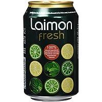 Laimon Fresh - Refresco con lima, limón y menta - 33 cl - [pack de 12]