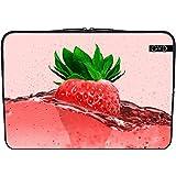 """Housse Neoprene PC Ordinateur Portable 13.3"""" pouces - Nourriture Fraise by WonderfulDreamPicture"""