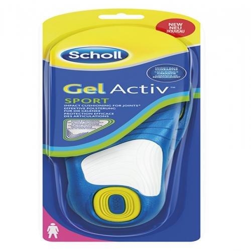 Scholl Gepolsterte Einlegesohlen für den Einsatz am Arbeitsplatz »Gel-Active Work Frauen«, blau, blue