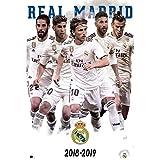 Erik Editores Poster Real Madrid 2018/2019 Gruppe 61 x 91,5 cm