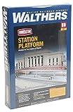 Walthers Cornerstone 933-3391 - Bahnsteig, Gebäude