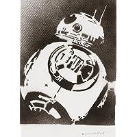 BB8 STAR WARS Handmade Street Art - Artwork - Poster