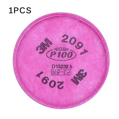 3M 2091 Partikelfilter P100 für Atemschutzmaske der Serie 6200 7502 Rußfilter