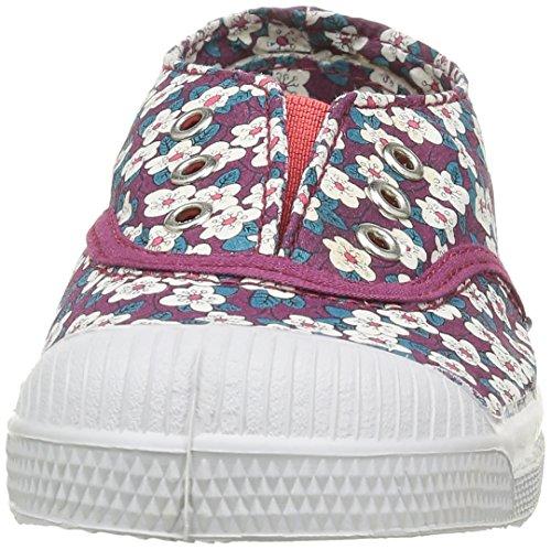 Bensimon E15149c258, Baskets Basses Fille Multicolore (9981 Petites Fleurs)