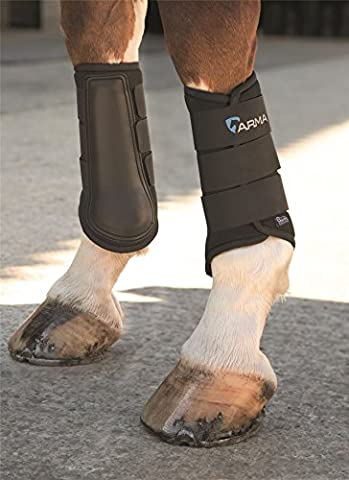 SHIRES NEOPRENE BRUSHING BOOTS COB BLK