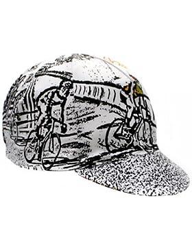 Gorra de ciclismo Cinelli modelo Alfred Bobe Jr. talla unica