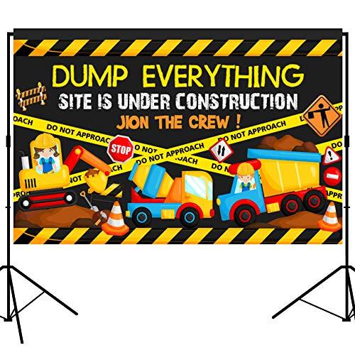 (musykrafties Hintergrund für Baupartys, großes Banner für Fotografie, Studio, Stoff, 12,7 x 91 cm)