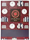 #5: Nightingale Diary 2018 - Monthly Planner - Maroon