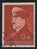 Goldhahn Deutsches Reich Nr. 772 gestempelt Hitlers 52. Geburtstag 1941 Briefmarken für Sammler