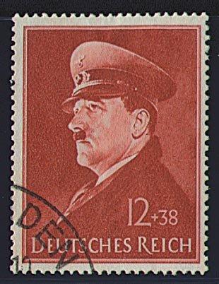 Preisvergleich Produktbild Goldhahn Deutsches Reich Nr. 772 gestempelt Hitlers 52. Geburtstag 1941 Briefmarken für Sammler