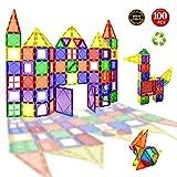 Children Hub 100 Stücke Magnetische Bausteine Eingestellt: Pädagogische Spielwaren Für Kinder