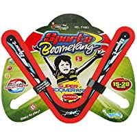 Helium All Colourful Style Returning Star Boomerang Sports Game Toy for Beginners and Young Throwers 02 Wings( Assorted…