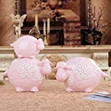 Lotefong Super Adorable Sheep Ornaments Wedding Gift Porcelain Crafts Decorations,Gules