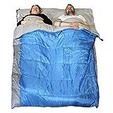 Redstone XL Double Sleeping Bag Converts into 2 Singles 400GSM 3-4 Season 210cm