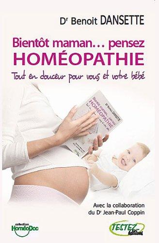 Bientôt maman... pensez homéopathie