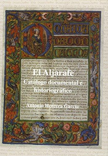 El Aljarafe : catálogo documental e historiográfico