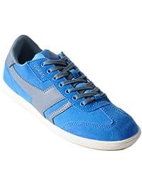 Boras - Socca Sneaker Sport- und Freizeitschuh BLAU Größe 36 DXqlt