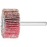 100 Grit Aluminum Oxide A 12000 Max rpm 2 Diameter x 1 Length 1//4 Shank PFERD Inc. PFERD 46204 PNL Polinox Non-Woven Abrasives Mounted Flap Wheel Pack of 10 2 Diameter x 1 Length 1//4 Shank